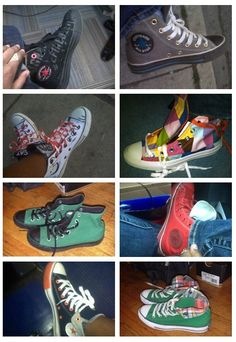 My collection of Converse Chuck Taylors. - www.MustLuvvShoes.com