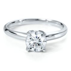 Helzberg Diamond Symphonies® 1 ct. Diamond Solitaire Engagement Ring in 14K Gold available at #HelzbergDiamonds