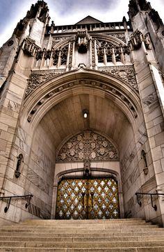 St. John's Cathedral, Spokane, WA Doors