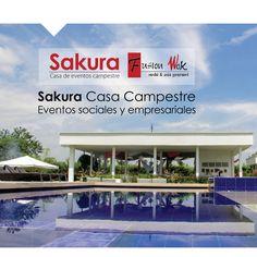 Sakura, casa campestre para eventos sociales y empresariales en Cali. (Colombia) #casadeeventos #casaeventos #sakura #cali #calico #colombia #casacampestre