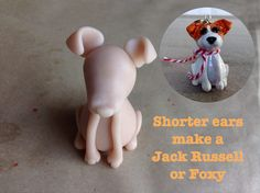 I have been working on polymer clay sculpted dog breeds. These make Pur-fect Christmas ornaments and I was going to post these for Christmas but I ran out of time. Polymer Clay Cat, Polymer Clay Ornaments, Clay Cats, Dog Crafts, Polymers, Jack Russell Terrier, Cartoon Characters, Shelter, Fondant