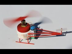 How to make a Helicopter - DC Motor Electric Helicopter - EASY!! - YouTube