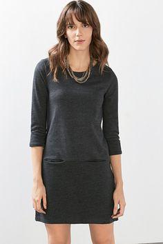 EDC / Meliertes Jersey-Kleid
