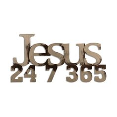 Jesus 24 7 365 Artistically hand painted - and ready to hang on any surface - Hangs with dual sided strips…No hammer, no nails, no damage! Decorate your home with words today! Bible Verses Quotes, Faith Quotes, Masters Of Flip, Encouragement, Letter Wall Decor, Spiritual Quotes, Religious Quotes, Spiritual Growth, 3d Wall