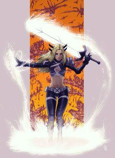 Magik Marvel, Marvel X, Marvel Heroes, Marvel Characters, Book Characters, Marvel Women, Marvel Girls, Comics Girls, X Men