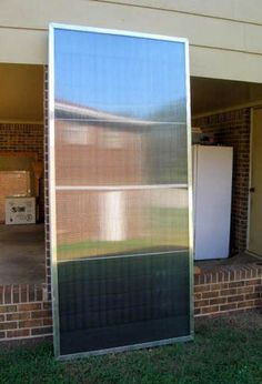 If Greg can do it maybe I can...a weekend project? Homemade Pop-Can Solar Space Heating Collector [Solar Panel]