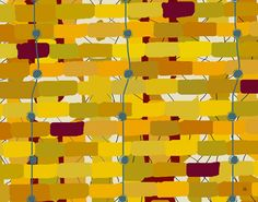 Abstract Stripes 1 Painting Print on Wrapped Canvas