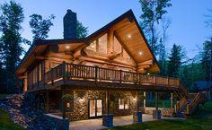 Кедровое Поместье | Строительство из кедра | Идеи для дома