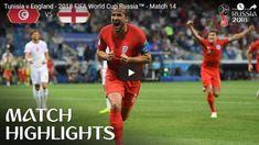 Tunisia vs England Highlights 18 June 2018 FIFA World Cup Russia 2018 World Cup Russia 2018, World Cup 2018, Fifa World Cup, Bible Songs, World Cup Match, International Teams, Match Highlights, Soccer Skills, World Cup