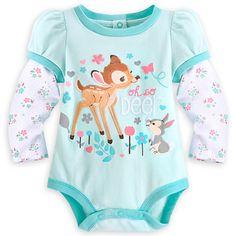 Bambi Disney Cuddly Bodysuit for Baby