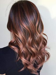 We predict that rose brown, blackberry, and mushroom hair are going to be popular this spring.