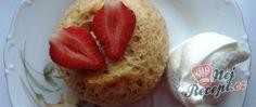Recept Mug cake s tvarohovým krémem Muesli, Baked Potato, Smoothies, French Toast, Healthy Recipes, Healthy Food, Food And Drink, Baking, Breakfast