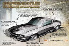 car design rendering