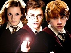 HARRY POTTER, HERMIONE GRANGER, RON WEASLEY : article flash ...