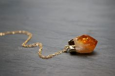 Hey, I found this really awesome Etsy listing at https://www.etsy.com/listing/167883722/citrine-necklace-raw-citrine-citrine