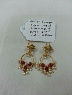 J Gold Earrings Designs, Gold Jewellery Design, Necklace Designs, Gold Jewelry, Cz Jewellery, Gold Bangles, Jewlery, Gold Rings, Small Earrings