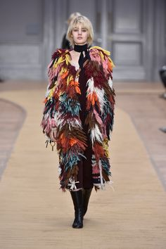 Look 41 from the Chloé Fall-Winter 2016 collection