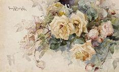 Selección acuarelas de flores -II-