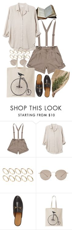 """Untitled #10686"" by nikka-phillips ❤ liked on Polyvore featuring Xirena, ASOS and Gucci"