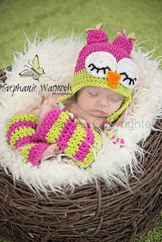 Watermelon Crochet hat and matching leg by KnitsNKnotsByFrances, $18.00