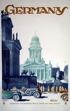 PosterTeam.com - Published by Reichsbahnzentrale für den Deutschen Reiseverkehr, Berlin Printed in Germany. Friedel Dzubas was born in Berlin, Germany in 1915, and in l939, immigrated to the United States, settling in New York.