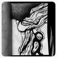 Super drawing art black and white artworks Ideas Dark Drawings, Ink Pen Drawings, Black And White Artwork, Black And White Drawing, Abstract Sketches, Abstract Art, Conceptual Drawing, Drawing Art, Drawing Sketches