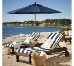 This Chesapeake chaise set is calling my name for a nap next to the waves. Outdoor Spaces, Outdoor Living, Outdoor Decor, Outdoor Ideas, Diy Design, Chaise Cushions, Chaise Lounges, Home Decor Sale, Modern Outdoor Furniture