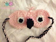 Flamingo Sleep Mask - Bobbles & Baubles