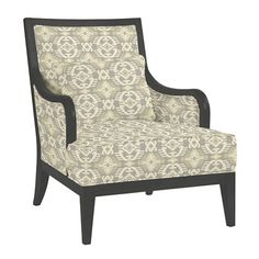 We punched up this classic exposed armchair in an ensemble of our favorite colors and fabrics, so you can take any room up a notch on the 'wow' curve. Living Room Redo, Wood Arm Chair, Exposed Wood, Ballard Designs, Wow Products, Favorite Color, Accent Chairs, Armchair, Classic