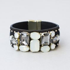 Deco Nights Cuff Bracelet