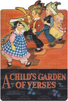 Author: Robert Louis Stevenson Childhood Disguise & Costume Illustrator: Fern Bisel Peat Imprint: Green Tiger Press Playing Shape Books'