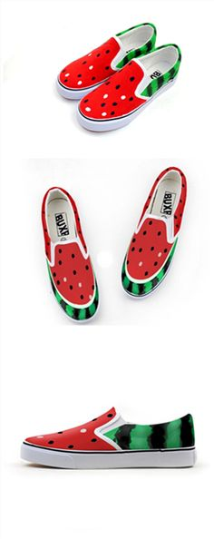 cute watermelon shoes