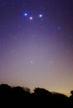 Spica, Mars and Saturn By lrargerich A beautiful conjunction between three celestial bodies with different colors. Spica is striking blue, Mars is reddish/orange and Satrun a pale yellow. August 12th,2012 at San Pedro, Argentina