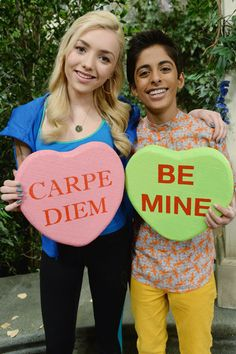 The Stars of Disney Channel Celebrate Valentine's Day in the Cutest Way Possible!