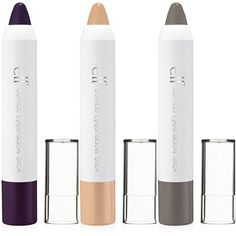 E.L.F. Essential Jumbo Eyeshadow Stick -LOVE these! Set them with powder shadow for longer lasting -- and only $2!!!