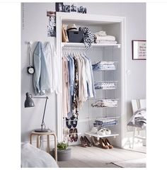 6 Bedroom Design Ideas For Teen Girls // Whether Itu0027s A Dresser, A Clothing  Rack, Or Built In Closet Organization, Ample Clothing Storage Is A Must For  Any ...