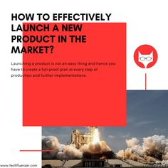 Launching a product is not an easy thing and hence you have to create a full-proof plan at every step of production and further implementations. Following are some guide to follow: Read More