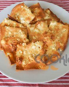 Λεπτό τυρόψωμο - Cooklos.gr Cauliflower, Vegetables, Food, Cauliflowers, Essen, Vegetable Recipes, Meals, Cucumber, Yemek