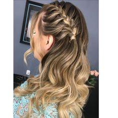 Long Hair Styles, Beauty, Instagram, Curled Hairstyles, Full Weave, Hair Down Hairstyles, Long Hair Updos, Pereira, Hairstyles