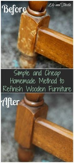 Naturally Repair Wood With Vinegar and Canola Oil  Canola oil
