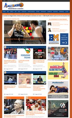 DailyBasket is a dynamic and innovative portal, which provides news, analysis and interviews to basketball world's enthusiasts, becoming in a few years the new reference for this sport. The new website was built using the WordPress engine, for which it has been developed a dedicated theme through the HTML5, PHP, CSS and jQuery technologies, paying particular attention to performance, cause the large number of daily visitors. #wordpress #html5 #php #css #js #jquery #responsive #mobile