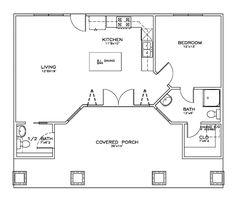 Cottage Craftsman House Plan 59355