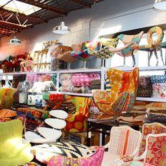Purple paradise. One of a Kind Sunnyside Trading Co Mid Century ...