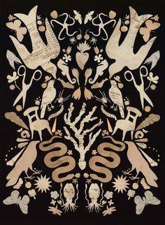 Folk Quilt Series: Momento - adrienneslane
