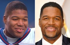 MICHAEL STRAHAN: 1997 AND 2017 -  Daytime talk show hosts: then and now  -  April 24, 2017
