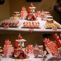 Wonderful Christmas party decor!!!