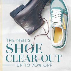 The Men's Shoe Clear-Out: Up to 70% Off