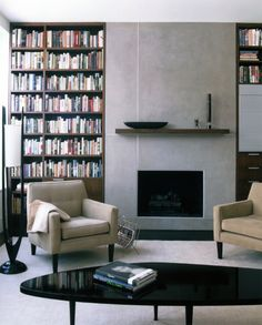 Simple fireplace refacing idea - just a slip of cement and a floating mantel shelf I LIKE THIS A LOT