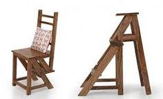 Resultado de imagem para cadeira que vira escada passo a passo
