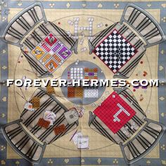 Ready for the game? Faites Vos Jeux, Hermes Paris silk scarf by Karen Petrossian invites you to Le Jouer Hermes and is now in our store http://forever-hermes.com #ForeverHermes featuring BoardGame #horse #puzzle #dice #chess #domino on your livingroom table & chairs. #HermesCarre #HermesParis #HermesCollector #horseaddict #horserider #MensSuit #mensfashion #mensnecktie #womensfashion